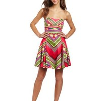 Rampage Juniors Strapless Dress