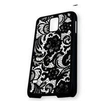 Beautiful Lace Pattern Floral Samsung Galaxy S5 Case