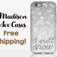I Smell Snow Phone Case
