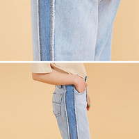Last Night's Dream Cropped Wide Jeans