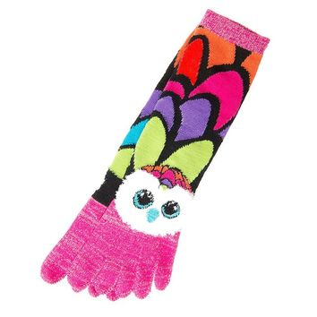 Claire's Accessories Girls Ty Beanie Boos Aria the Owl Toe Socks