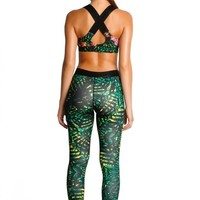 Agua Bendita Luxury Workout Leggings - Fierce