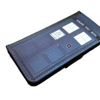 Doctor Who Tardis Iphone 6 (4.7-Inch) wallet case black flip case for iPhone 6 (4.7)