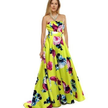Promo-millie-lime Prom Dress