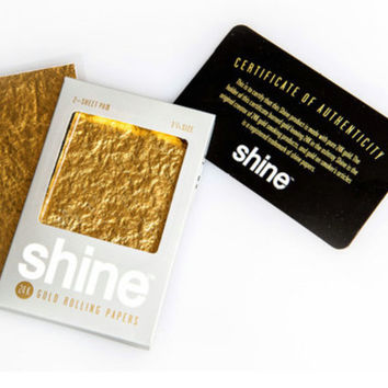 24k Gold Smoking Rolling Papers