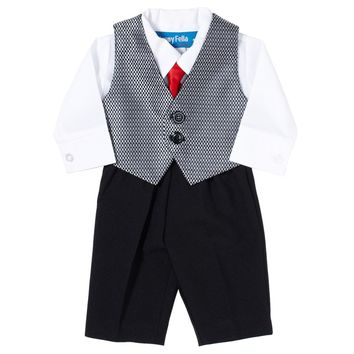 3pc Vest Set With Tie Preemie 345628214 From Burlington Coat