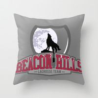 Teen wolf - Beacon hills lacrosse team Throw Pillow by Little wadoo