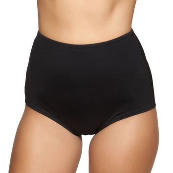 Classic High Waisted Bottoms- Black