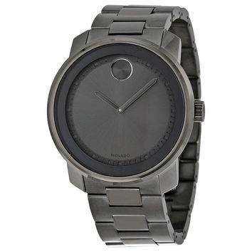 Movado Bold Grey Ion-plated Stainless Steel Mens Watch 3600259