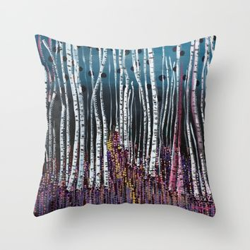 :: Pink Moss :: Throw Pillow by :: GaleStorm Artworks ::