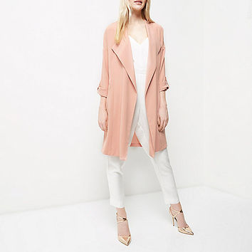 Pink duster jacket - jackets - coats / jackets - women