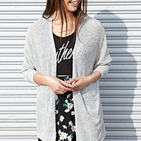 Easy Open-Knit Cardigan