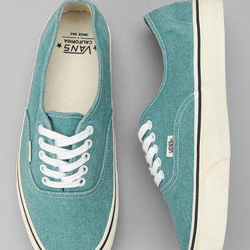 Vans California Washed Canvas Authentic Sneaker