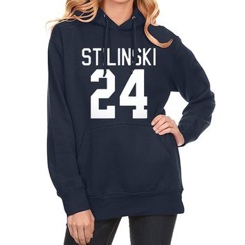 Women Hoodies Sweatshirts 2017 Spring New Arrival Winter Fleece Hoody Print STILINSKI 24 Wolf Teen Hip Hop Tracksuits Harajuku