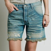 Free People Tucker Washed Short