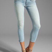 Hudson Jeans Harkin Crop Cuffed Skinny in Balearic from REVOLVEclothing.com