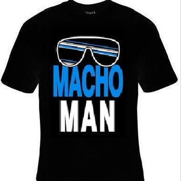 macho man glasses t-shirt cool funny t-shirts cute gift present humor tee shirts