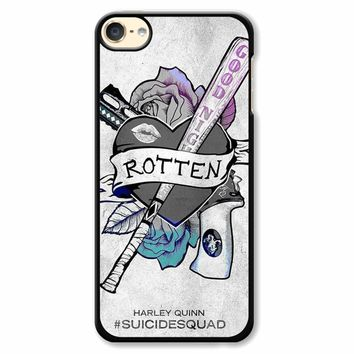 Suicide Squad Logo Harley Quinn iPod Touch 6 Case