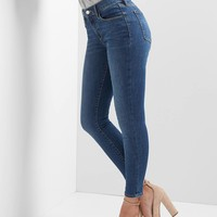 Washwell mid rise Sculpt true skinny jeans | Gap