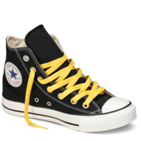 "Canary Yellow Hi-Top  54"" Shoe Laces : Converse Shoelaces 
