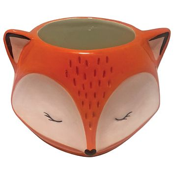 Fox Planter Pot