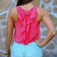 Love Me More Blouse: Hot Pink | Hope's