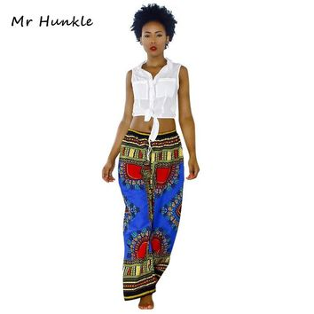 Mr Hunkle 2017 New Fashion Design Man Pants Traditional African Clothing Print Dashiki Pants For Women And Men
