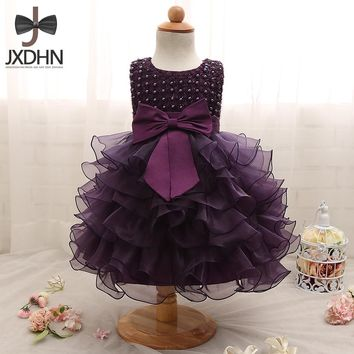 Newborn Girl Dress Baby Kids Clothing Ceremonies 1 Birthday Party Dresses Girls Clothes For Wedding Christening Princess dress