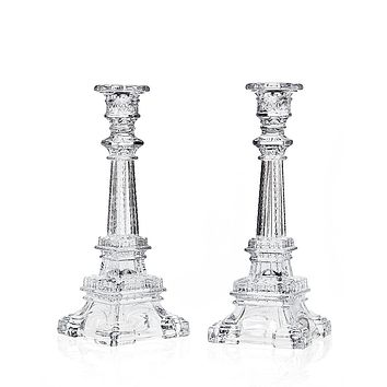 Eiffel Tower Candlesticks, Wine Cups, Cutlery Sets