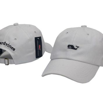 Vineyard Vines Women Men Embroidery Sports Sun Hat Baseball Cap Hat-8