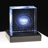 The Milky Way Galaxy Star Crystal - beautiful astronomical collector's piece | Edmund Scientific