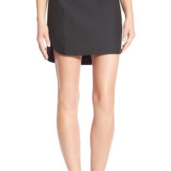 Madewall 'Nightfall Jacquard' Shirttail Skirt | Nordstrom