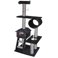 "Go Pet Club 60"" Cat Tree in Black"