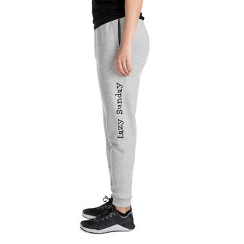 Lazy Sunday Unisex Joggers
