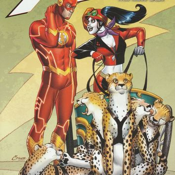 The Flash # 39 DC Comics The New 52! Vol 4 Harley Quinn Variant Cover