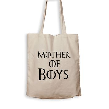 Mother Of Boy - Tote Bag
