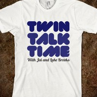 Twin Talk Time shirt