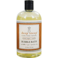 Deep Steep Bubble Bath - Brown Sugar Vanilla - 17.5 oz