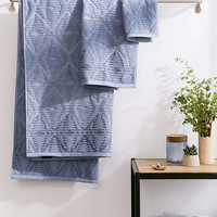 Pendleton Geo Sculpted Bath Towel | Urban Outfitters