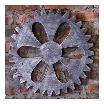 Industrial Style Gear Wall Haning Decoration    D