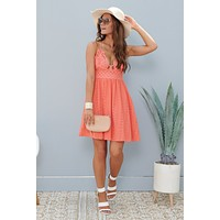 Flirty And Fun Dress (Pink Coral)