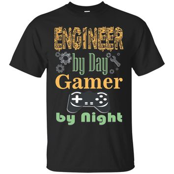 Engineer by Day Gamer by Night Awesome T-Shirt