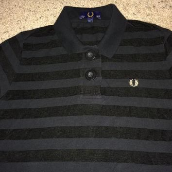 Sale!! Vintage FRED PERRY Polo Shirt Retro Casual Clothing