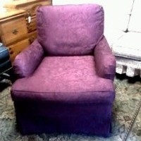Comfy Parlor Chair
