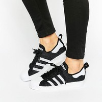 Adidas | adidas Orginals Superstar 80's Knit Trainers at ASOS