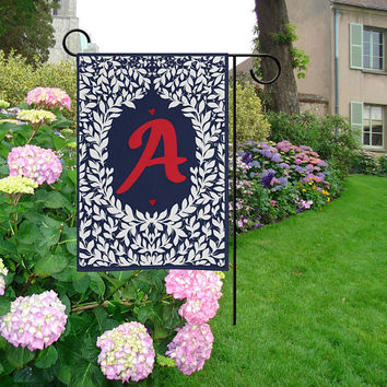 Personalized Flag Welcome Home Garden Flag   Family Name Garden Flag   ABC Garden Flag