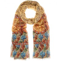 mytheresa.com -  Printed twill scarf - Luxury Fashion for Women / Designer clothing, shoes, bags