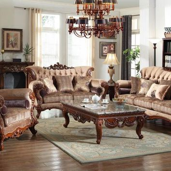 Copy of Bordeaux living room collection  Includes accenting toss pillows