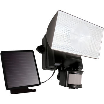 Maxsa Innovations Solar-powered 50-led Motion-activated Outdoor Security Floodlight (black)