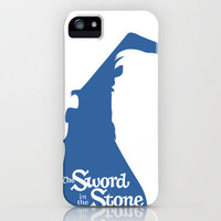 The Sword in the Stone iPhone Case by Citron Vert | Society6